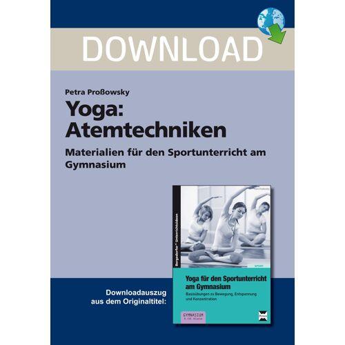 Persen Verlag Yoga: Atemtechniken