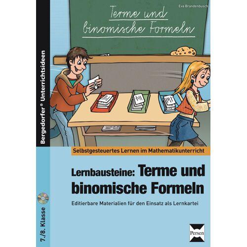 Persen Verlag Lernbausteine: Terme und binomische Formeln