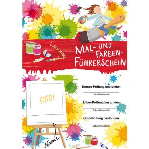 Persen Verlag Mal-Farb-Führerschein - Klassensatz Führerscheine