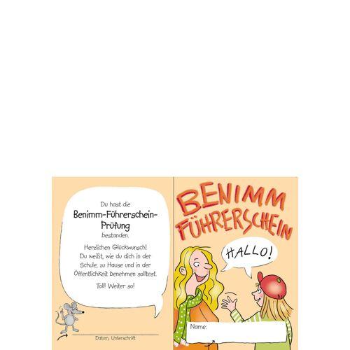 Persen Verlag Benimm-Führerschein - Klassensatz Führerscheine
