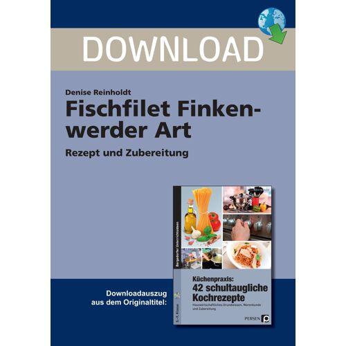 Persen Verlag Fischfilet Finkenwerder Art
