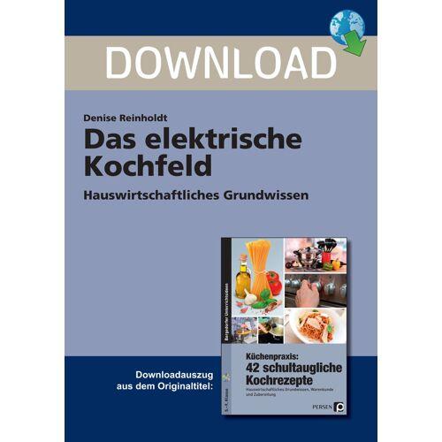 Persen Verlag Das elektrische Kochfeld