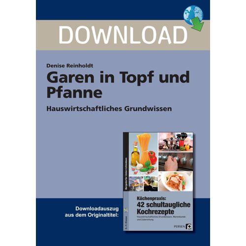 Persen Verlag Garen in Topf und Pfanne