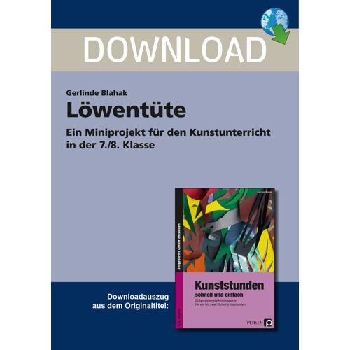 Persen Verlag Löwentüte