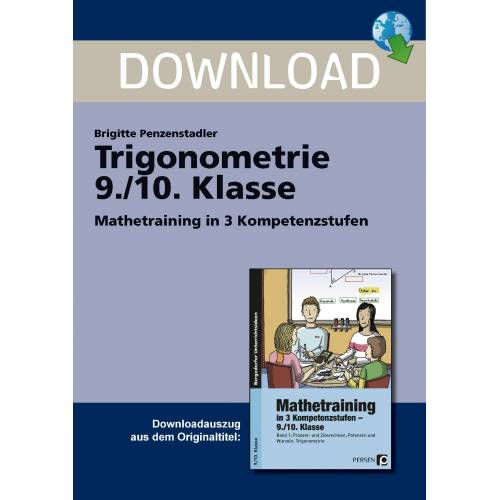 Persen Verlag Trigonometrie 9./10. Klasse