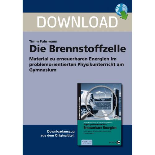 Persen Verlag Die Brennstoffzelle