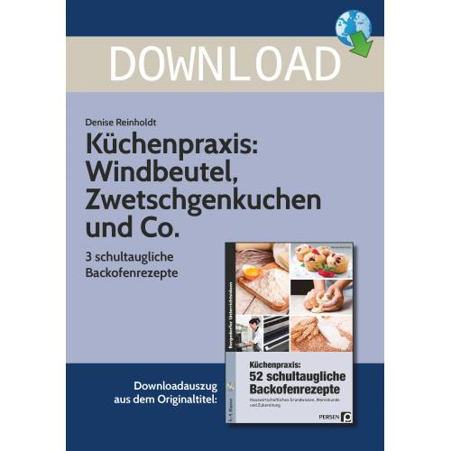 Persen Verlag Küchenpraxis: 3 schultaugliche Backofenrezepte