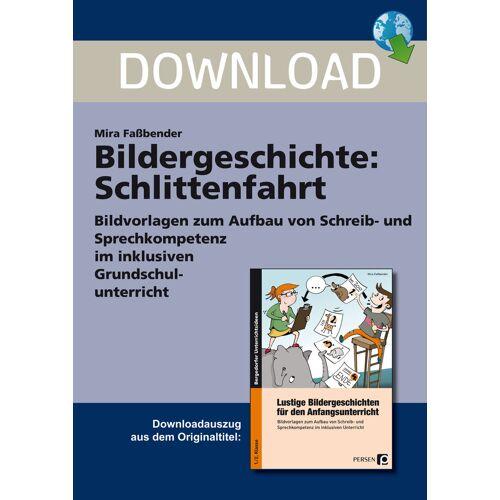 Persen Verlag Bildergeschichte: Schlittenfahrt