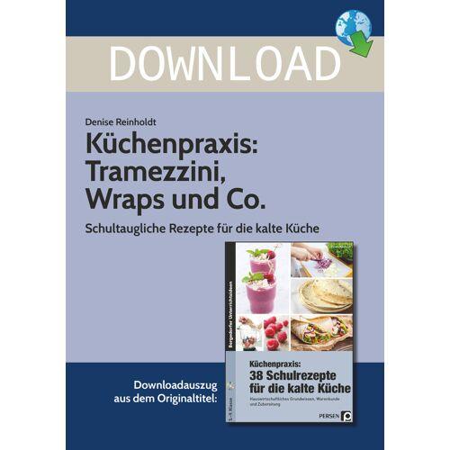 Persen Verlag Küchenpraxis: Tramezzini, Wraps und Co.