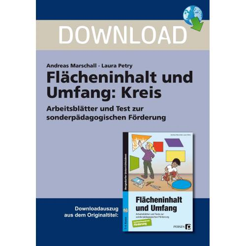 Persen Verlag Flächeninhalt und Umfang: Kreis