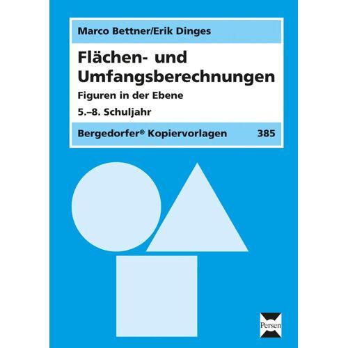 Persen Verlag Flächen- und Umfangsberechnungen