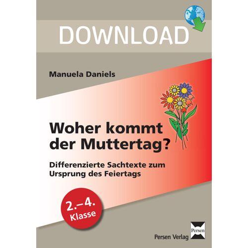 Persen Verlag Woher kommt der Muttertag?