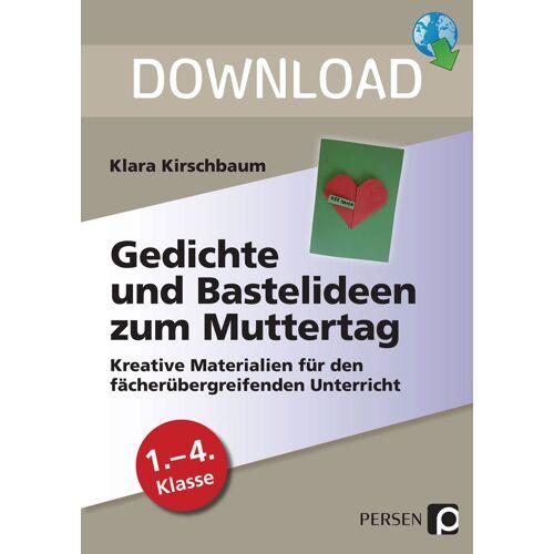Persen Verlag Gedichte und Bastelideen zum Muttertag