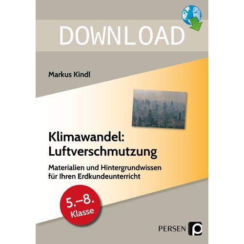 Persen Verlag Klimawandel: Luftverschmutzung