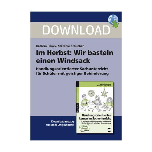 Persen Verlag Im Herbst: Wir basteln einen Windsack