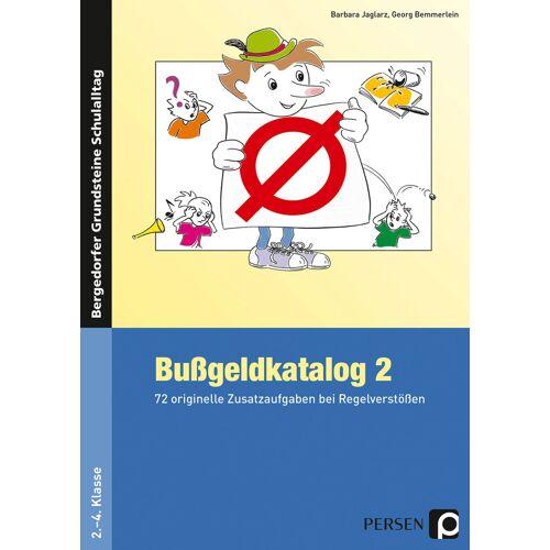 Persen Verlag Bußgeldkatalog 2 Kl. 2-4