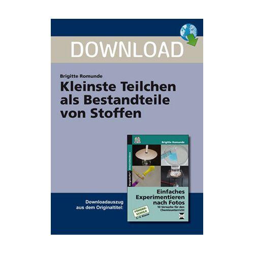 Persen Verlag Kleinste Teilchen als Bestandteile von Stoffen