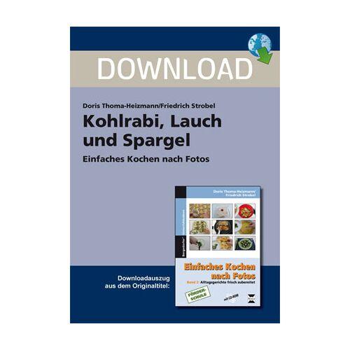 Persen Verlag Kohlrabi, Lauch und Spargel