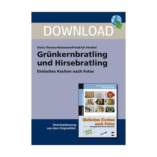 Persen Verlag Grünkohlbratling und Hirsebratling