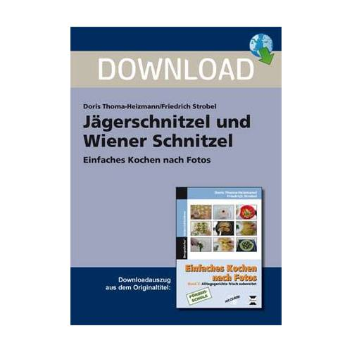 Persen Verlag Jägerschnitzel und Wiener Schnitzel