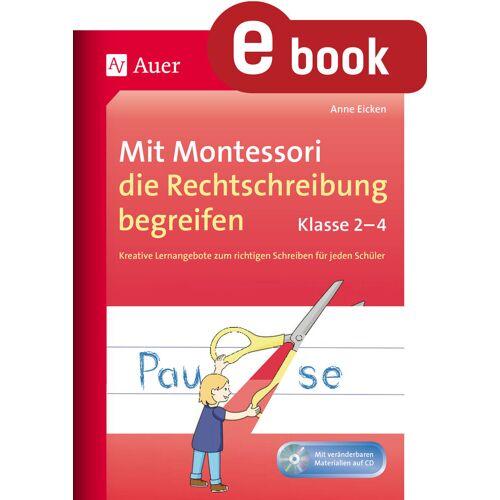 Auer Verlag Mit Montessori die Rechtschreibung begreifen Kl. 2