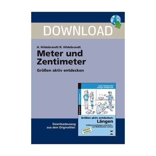Persen Verlag Meter und Zentimeter
