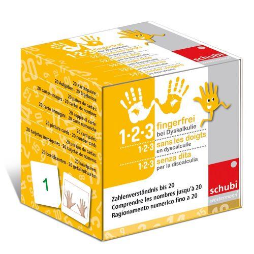 Westermann Lernspielverlage 1-2-3 fingerfrei bei Dyskalkulie / 1-2-3 fingerfrei bei Dyskalkulie 1