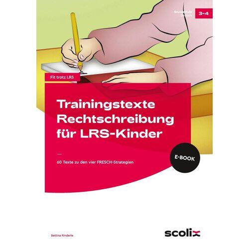 AOL-Verlag Trainingstexte Rechtschreibung für LRS-Kinder