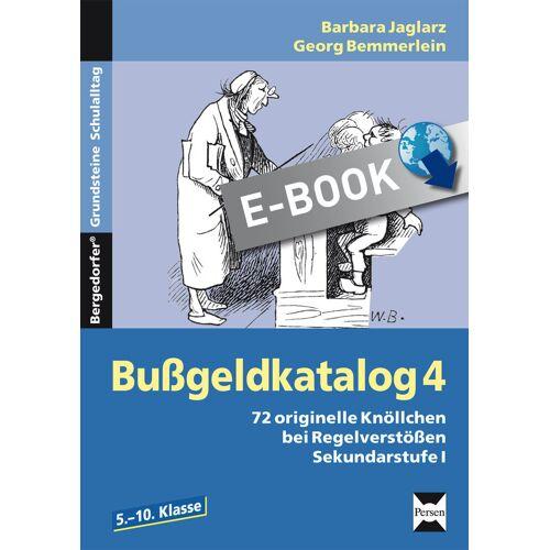 Persen Verlag Bußgeldkatalog 4 Kl. 5-10