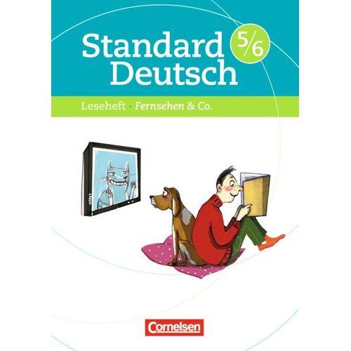 Cornelsen Scriptor Standard Deutsch / 5./6. Schuljahr - Fernsehen & Co.