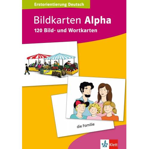 Klett Sprachen Bildkarten Alpha