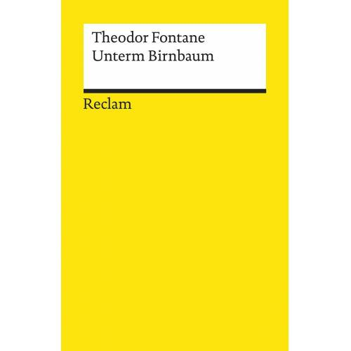 Reclam Unterm Birnbaum