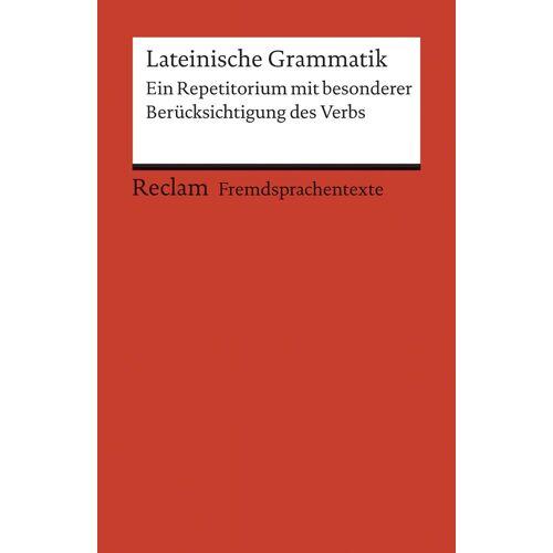 Reclam Lateinische Grammatik