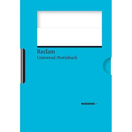 Reclams Universal-Notizbuch (blau)
