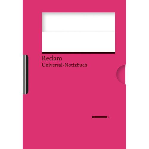 Reclams Universal-Notizbuch (magenta)