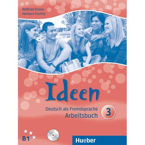 Hueber Ideen 3. Arbeitsbuch mit 2 Audio-CDs zum Arbeitsbuch