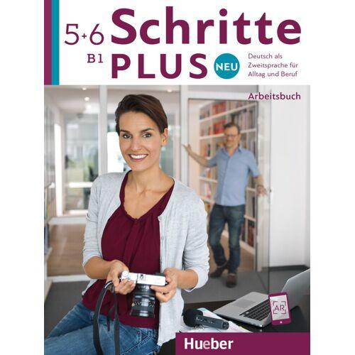 Hueber Schritte plus Neu 5+6. Arbeitsbuch + 2 Audio-CDs zum Arbeitsbuch