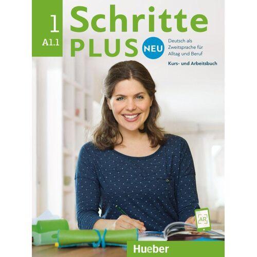 Hueber Schritte plus Neu 01. Kursbuch+Arbeitsbuch+CD zum Arbeitsbuch