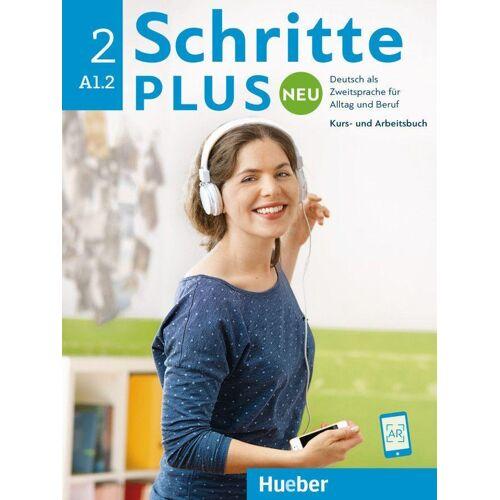 Hueber Schritte plus Neu 2. Kursbuch+Arbeitsbuch+CD zum Arbeitsbuch