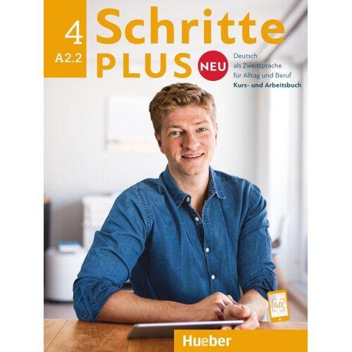 Hueber Schritte plus Neu 4. Kursbuch + Arbeitsbuch + CD zum Arbeitsbuch
