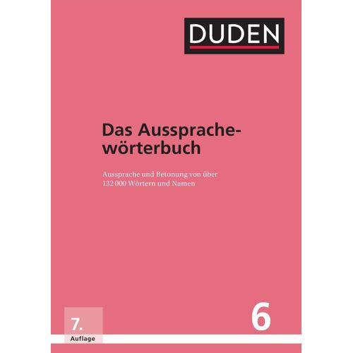 Duden Schulbuch Duden  Das Aussprachewörterbuch