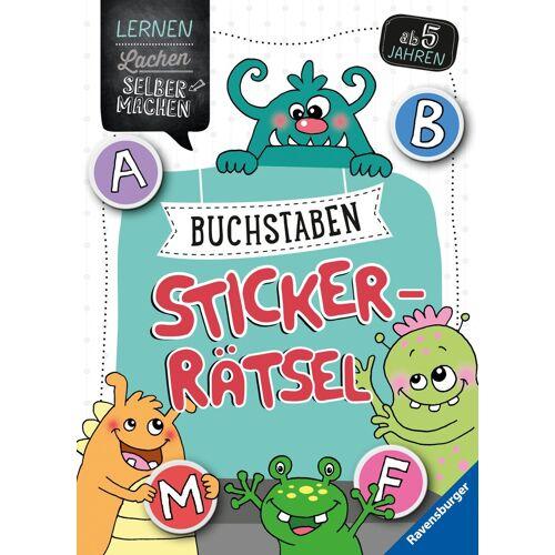 Ravensburger Buchstaben-Sticker-Rätsel