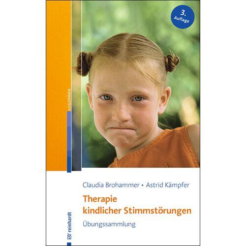 Reinhardt Verlag Therapie kindlicher Stimmstörungen