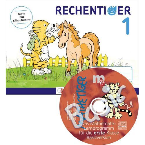 Mildenberger Rechentiger 1 mit CD-ROM
