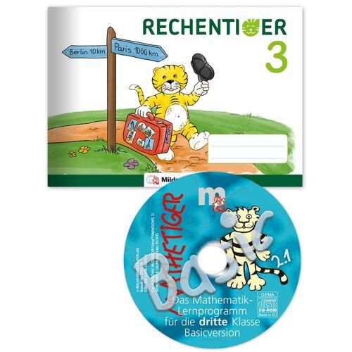 Mildenberger RECHENTIGER 3 mit CD-ROM