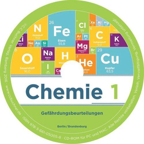 CCBuchner-Verlag Chemie neu Berlin/Brandenburg / Chemie Berlin/Brandenburg Gefährdungsbeurteilung 1