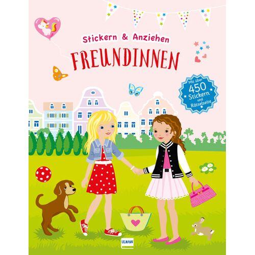 Ullmann Medien Freundinnen (Anziehpuppen, Anziehpuppen-Sticker)