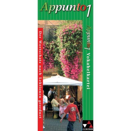 CCBuchner-Verlag Appunto. Unterrichtswerk für Italienisch als 3. Fremdsprache / Appunto Vokabelkartei 1