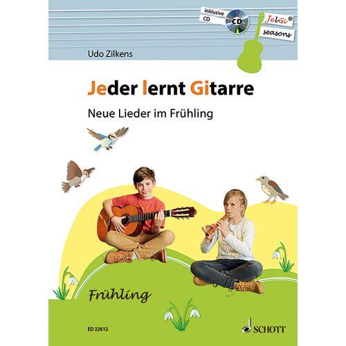 Schott Music Jeder lernt Gitarre - Neue Lieder im Frühling