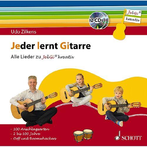"""Jeder lernt Gitarre - Alle Lieder zu """"JelGi kreativ"""""""